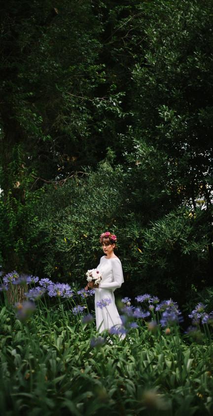 Editorial vestido de novia Raimon Bundó