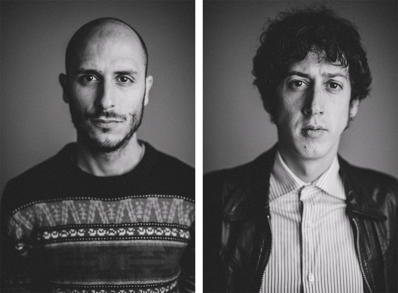 retrato de estudio de musicos banda de musica valencia