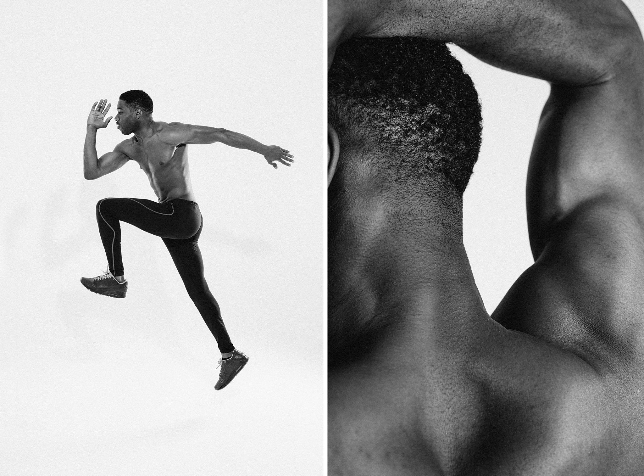 fotografía deportiva en estudio atleta valencia