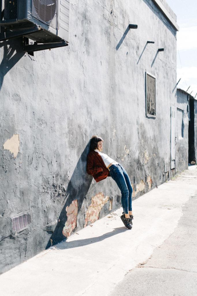 fotografia de publicidad bailarina en exteriores valencia