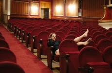Bailarina en el teatro Olympia