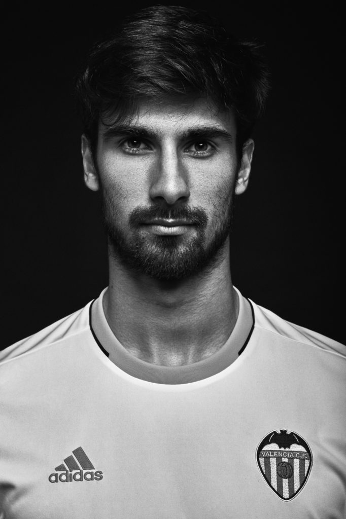 fotografia publicidad equipacion Adidas para el Valencia Club de Futbol