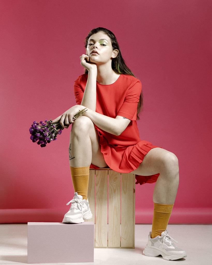 retrato fotografía modelo estudio valencia